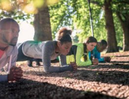 outdoor fitness course